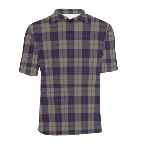 Cunningham Dress Blue Dancers  Tartan Polo Shirt HJ4