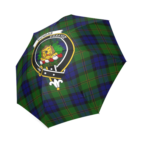 Dundas Modern Crest Tartan Umbrella TH8