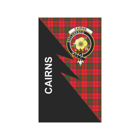 "Cairns Tartan Garden Flag - Flash Style 36"" x 60"""