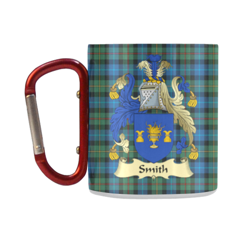 Image of Smith Tartan Mug Classic Insulated - Clan Badge K7