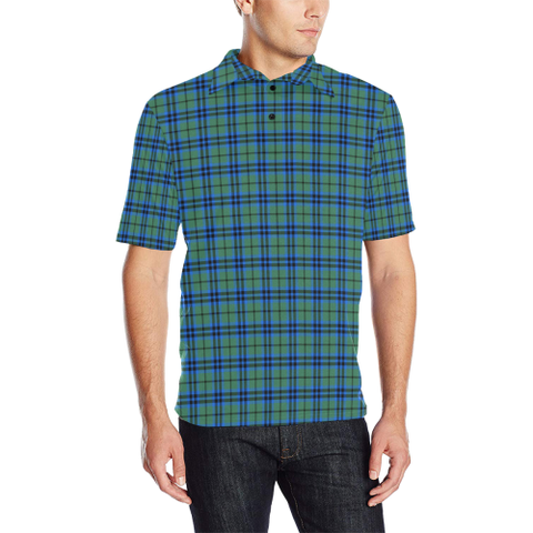 Image of Falconer  Tartan Polo Shirt