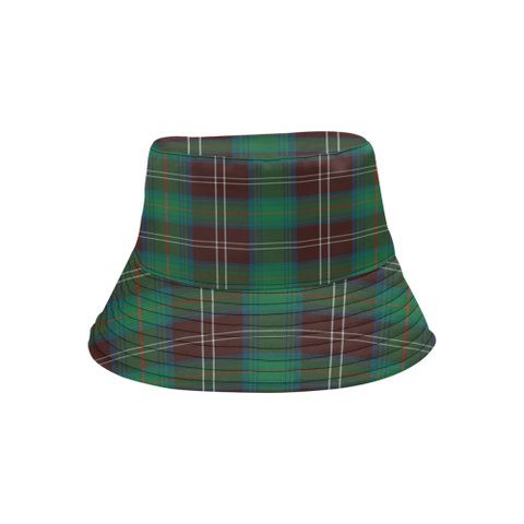 Chisholm Hunting Ancient Tartan Bucket Hat for Women and Men K7