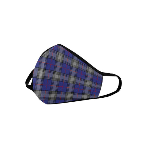 Kinnaird Tartan Mouth Mask With Filter | scottishclans.co