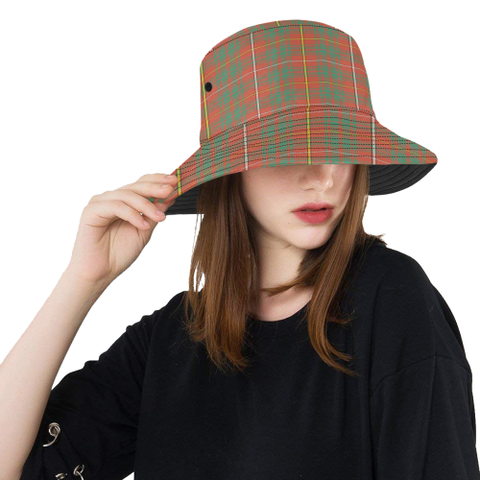 Bruce Ancient Tartan Bucket Hat for Women and Men | Scottishclans.co