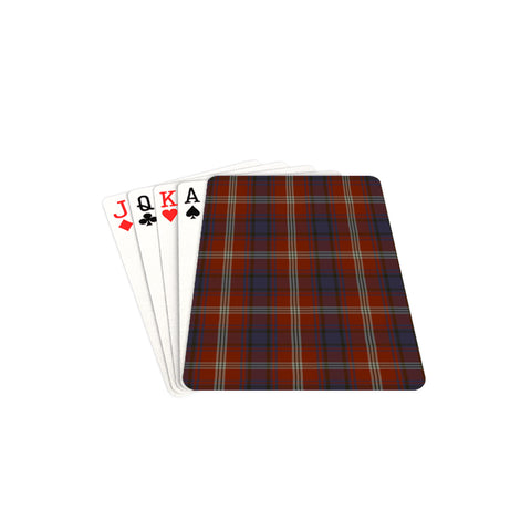 Ainslie Tartan Playing Cards TH8
