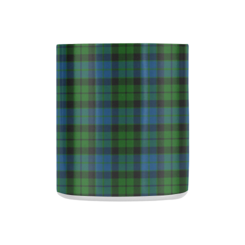 Mackay Modern Tartan Mug Classic Insulated - Clan Badge K7