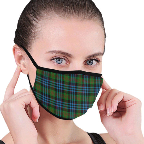 Newlands of Lauriston Tartan Mouth Mask Inner Pocket K6 (Combo)