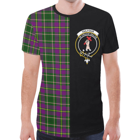 Image of Taylor T-shirt Half In Me | scottishclans.co