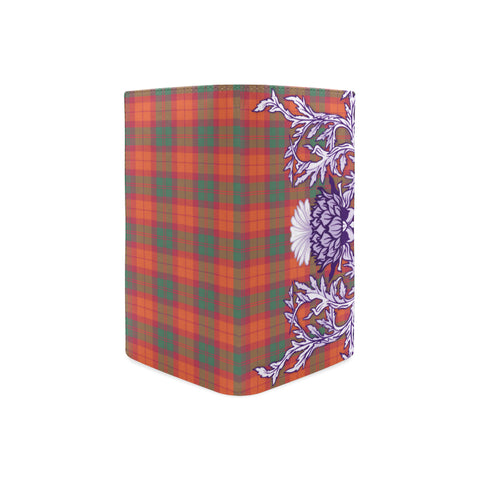 MacNab Ancient Tartan Wallet Women's Leather Thistle A91