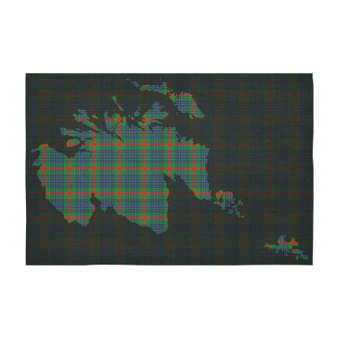 Image of Aiton Tartan Map Tablecloth