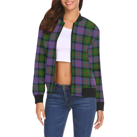 Blair Modern Tartan Bomber Jacket | Scottish Jacket | Scotland Clothing