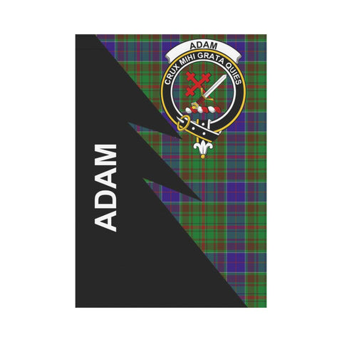 "Adam Tartan Garden Flag - Flash Style 28"" x 40"""