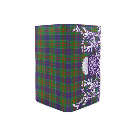 Stewart of Appin Hunting Modern Tartan Wallet Women's Leather Thistle A91