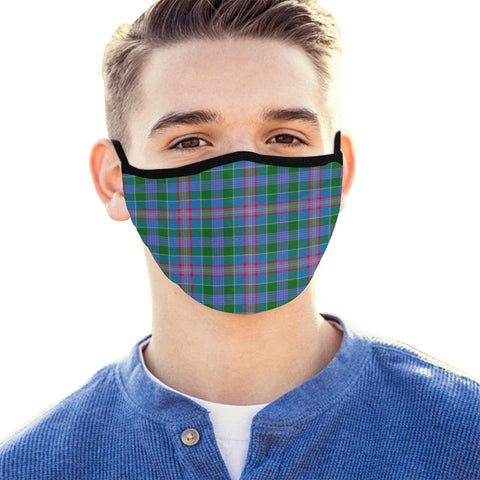 Ralston Tartan Mouth Mask With Filter | scottishclans.co
