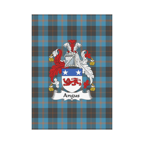 Angus Ancient Tartan Flag Clan Badge K7