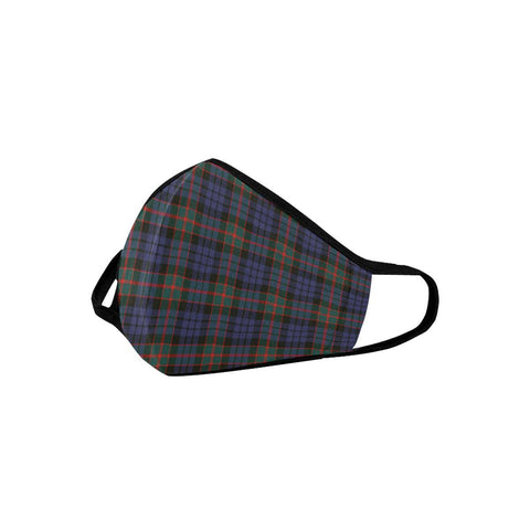 Fletcher of Dunans Tartan Mouth Mask With Filter | scottishclans.co