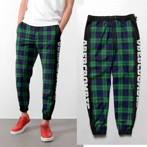 Abercrombie - Tartan All Over Print Sweatpants - BN