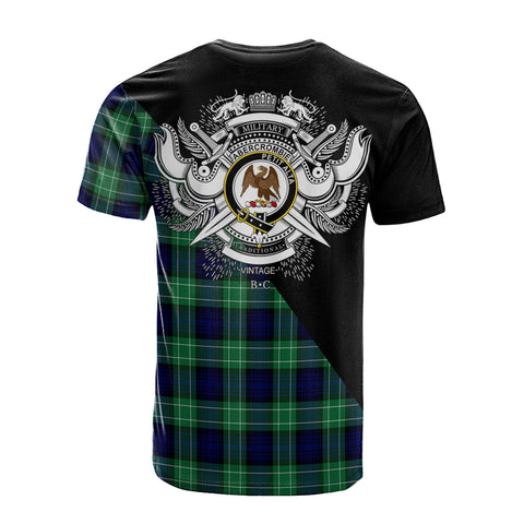 Abercrombie Clan Military Logo T-Shirt K23
