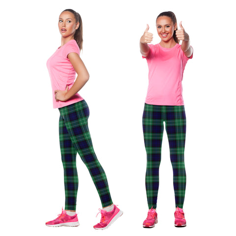 Image of Abercrombie Tartan Leggings| Over 500 Tartans | Special Custom Design