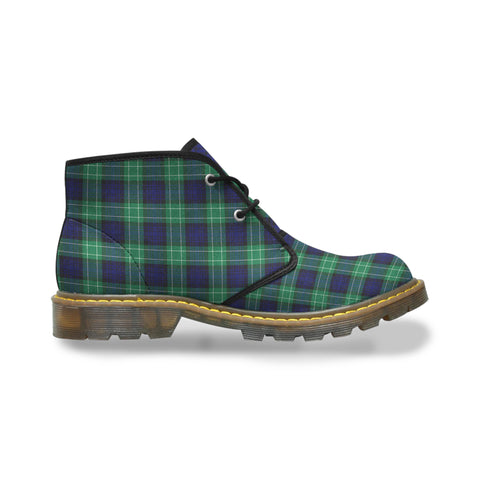 Image of Abercrombie Tartan Chukka Boots A9