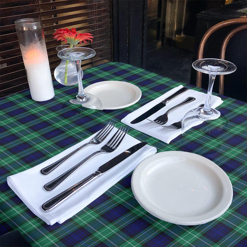 Image of Abercrombie Tartan Tablecloth | Home Decor
