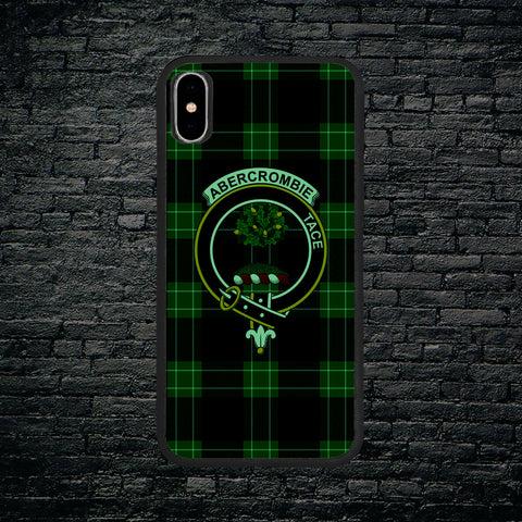 Abercrombie Tartan Clan Badge Luminous Phone Case IPhone X