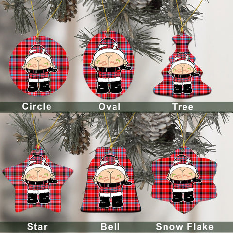 Aberdeen District Tartan Christmas Decor - Ross Ceramic Ornament - Funny Style A7