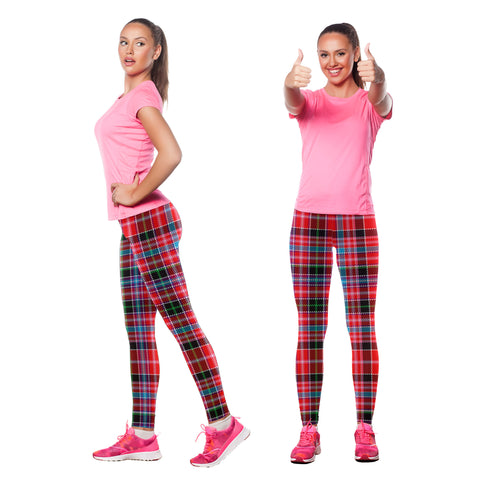 Aberdeen District Tartan Leggings | Scottishclans.co