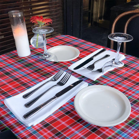Image of Aberdeen District Tartan Tablecloth | Home Decor