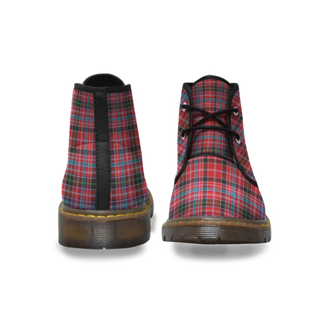 Aberdeen District Tartan Chukka Boots A9