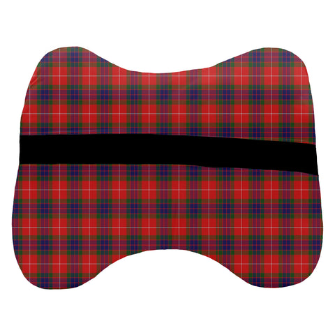 Abernethy Tartan Head Cushion Clan Badge K7