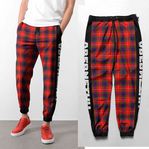 Abernethy - Tartan All Over Print Sweatpants - BN