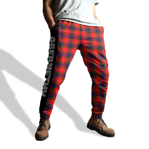 Image of Abernethy - Tartan All Over Print Sweatpants - BN