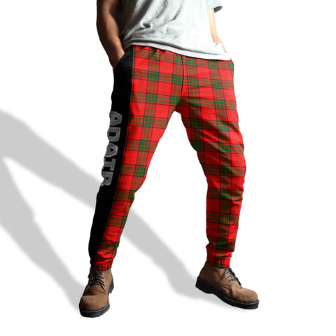 Image of Adair - Tartan All Over Print Sweatpants - BN