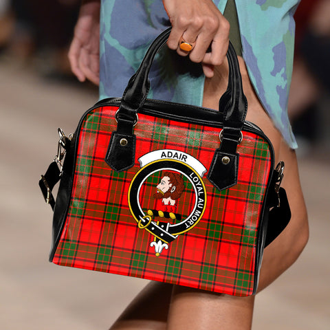 Adair Tartan Clan Shoulder Handbag | Special Custom Design