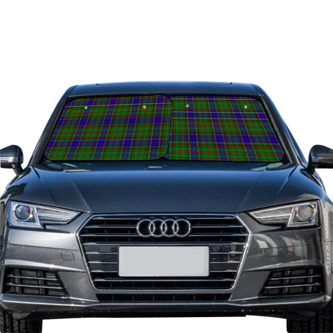 Adam Clan Tartan Scotland Car Sun Shade 2pcs