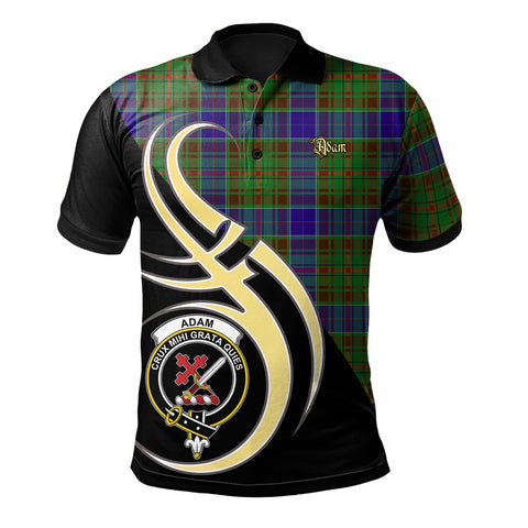Image of Adam Clan Believe In Me Polo Shirt