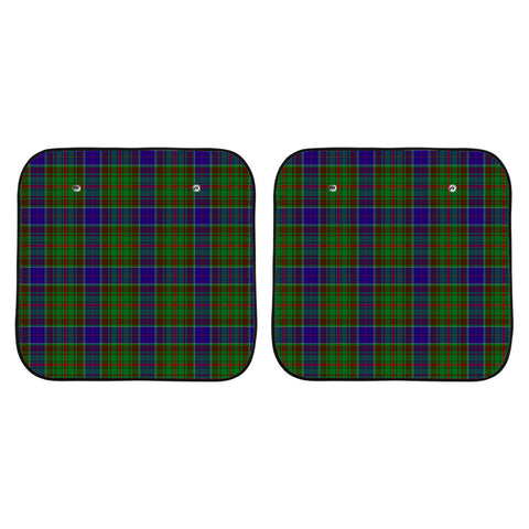 Adam Clan Tartan Scotland Car Sun Shade 2pcs K7