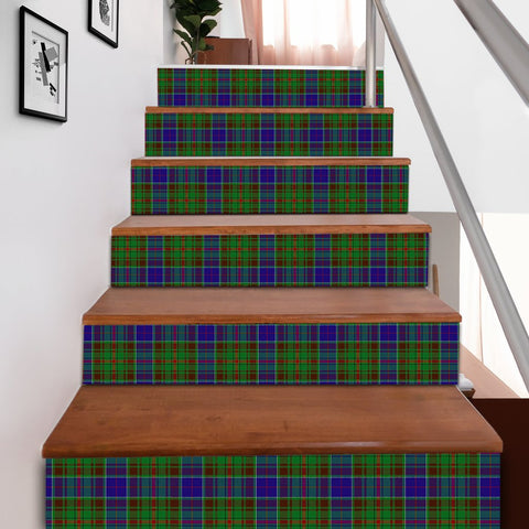 Scottishshop Tartan Stair Stickers - Adam Stair Stickers A91