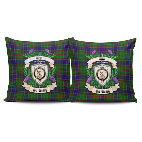 Adam Crest Tartan Pillow Cover Thistle (Set of two) A91 | Home Set