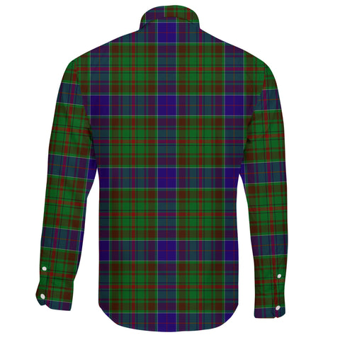 Adam Tartan Clan Long Sleeve Button Shirt A91
