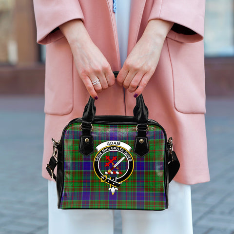 Adam Tartan Clan Shoulder Handbag | Special Custom Design