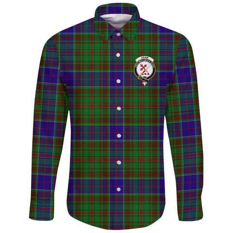 Adam Tartan Clan Long Sleeve Button Shirt | Scottish Clan