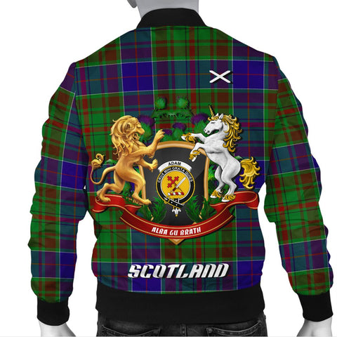Adam | Tartan Bomber Jacket | Scottish Jacket | Scotland Clothing