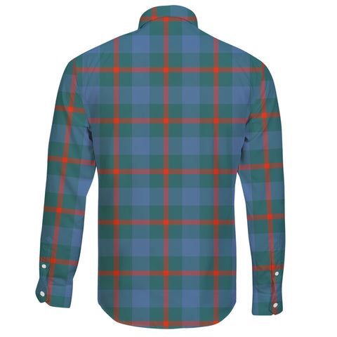 Image of Agnew Ancient Tartan Clan Long Sleeve Button Shirt A91