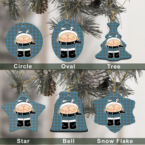 Agnew Ancient Tartan Christmas Decor - Ross Ceramic Ornament - Funny Style A7