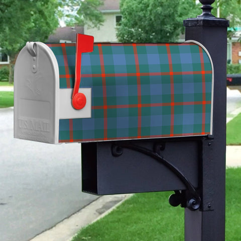 ScottishClan Agnew-Ancient Tartan Crest Scotland Mailbox A91