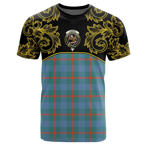 Agnew Ancient Tartan Clan Crest T-Shirt - Empire I - HJT4 - Scottish Clans Store - Tartan Clans Clothing - Scottish Tartan Shopping - Clans Crest - Shopping In scottishclans - T-Shirt - Tee For You