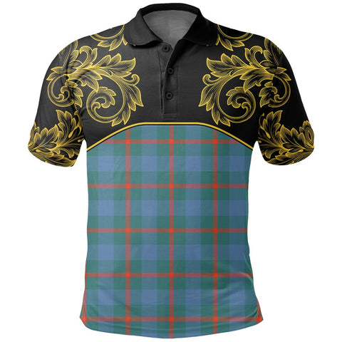 Agnew Ancient Tartan Clan Crest Polo Shirt - Empire I - HJT4 - Scottish Clans Store - Tartan Clans Clothing - Scottish Tartan Shopping - Clans Crest - Shopping In scottishclans - Polo Shirt For You