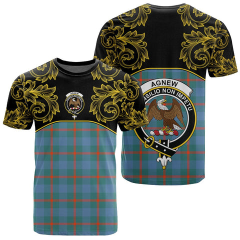 Image of Agnew Ancient Tartan Clan Crest T-Shirt - Empire I - HJT4